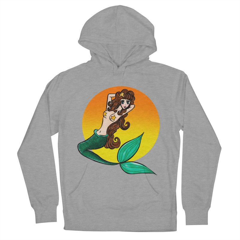 Sunny Mermaid Women's Pullover Hoody by jessperezes's Artist Shop