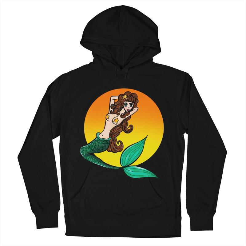 Sunny Mermaid Women's Pullover Hoody by jessperezes's Artist Shop
