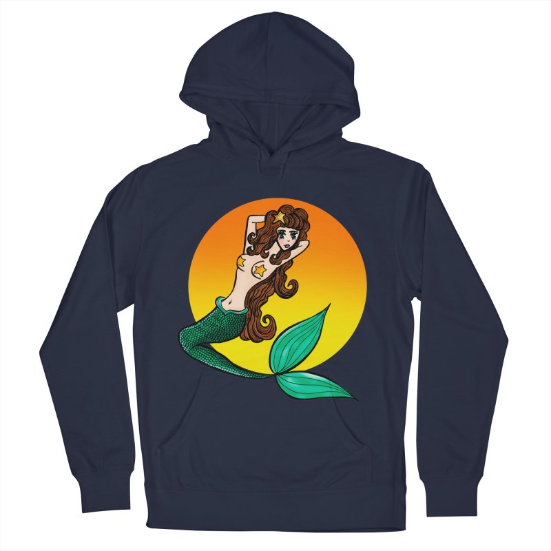 Sunny Mermaid Men's Pullover Hoody by jessperezes's Artist Shop