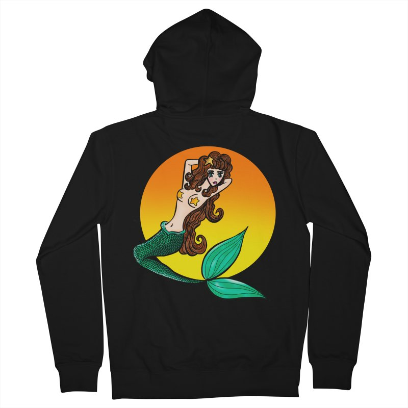 Sunny Mermaid Women's Zip-Up Hoody by jessperezes's Artist Shop