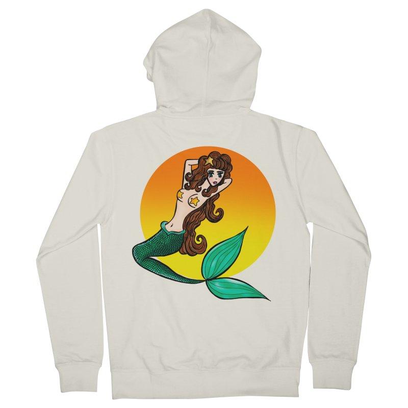 Sunny Mermaid Women's Zip-Up Hoody by jessperezes's Artist Shop