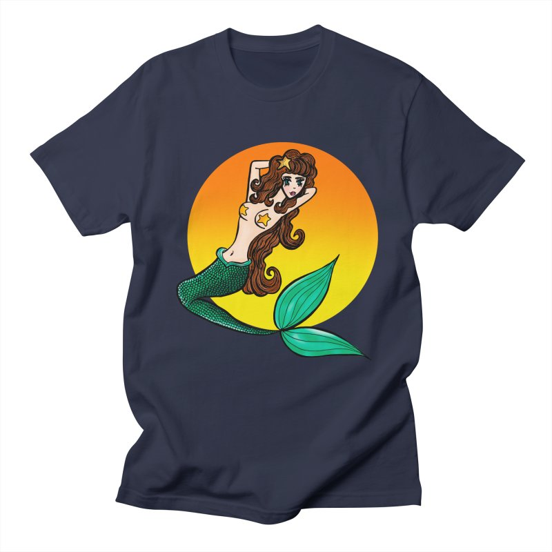 Sunny Mermaid Women's Unisex T-Shirt by jessperezes's Artist Shop
