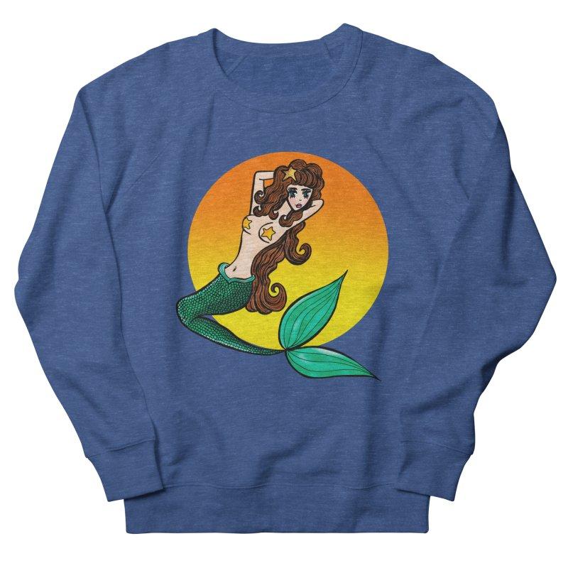 Sunny Mermaid Women's Sweatshirt by jessperezes's Artist Shop