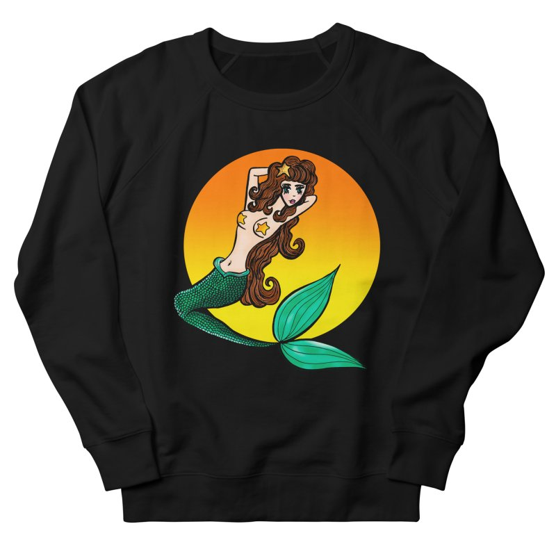 Sunny Mermaid Men's Sweatshirt by jessperezes's Artist Shop