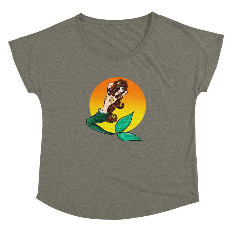Sunny Mermaid Women's Dolman by jessperezes's Artist Shop