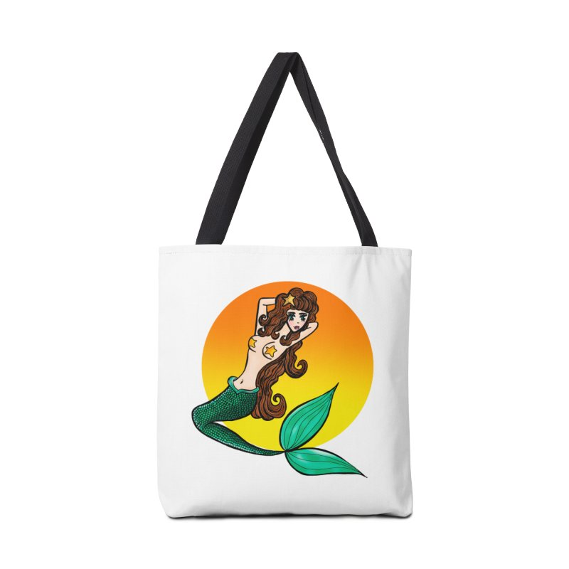 Sunny Mermaid Accessories Bag by jessperezes's Artist Shop