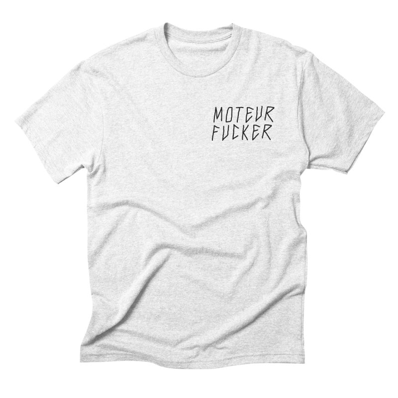 Moteur Fucker Men's Triblend T-shirt by JESUS SKID SHOP