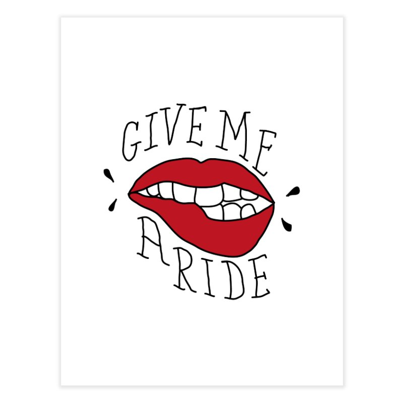 Give Me A Ride Home Fine Art Print by JESUS SKID SHOP