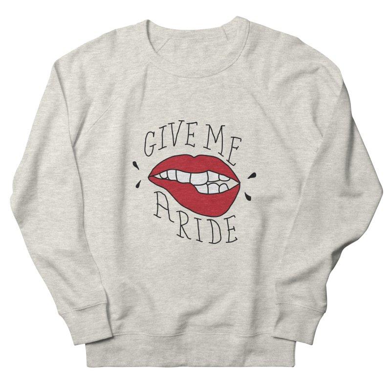 Give Me A Ride Men's Sweatshirt by JESUS SKID SHOP