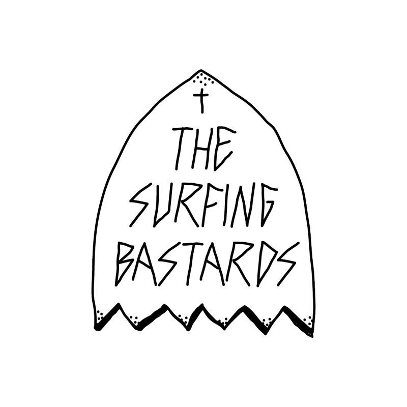 Surfing Bastards by JESUS SKID SHOP