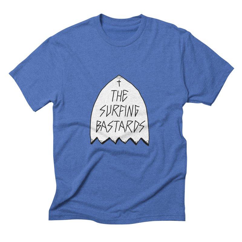 Surfing Bastards Men's Triblend T-shirt by JESUS SKID SHOP