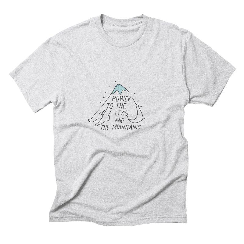 POWER Men's Triblend T-Shirt by JESUS SKID SHOP