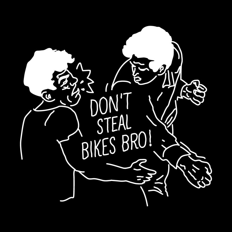 Don't Steel Bike Bro Men's Triblend T-Shirt by JESUS SKID SHOP