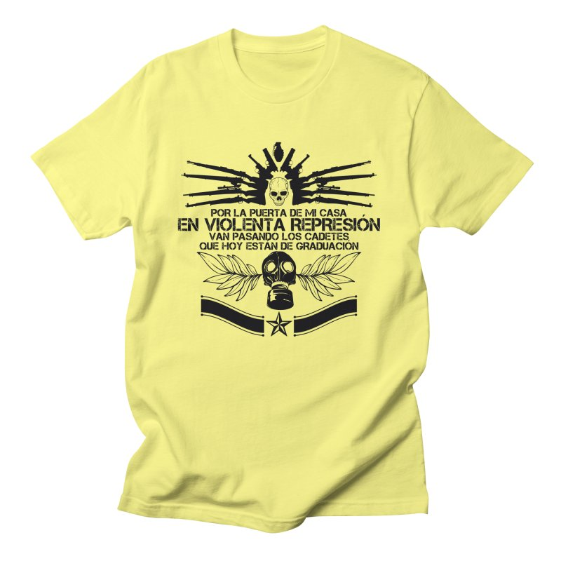 Violenta Represión Men's T-Shirt by jesustomed's Artist Shop