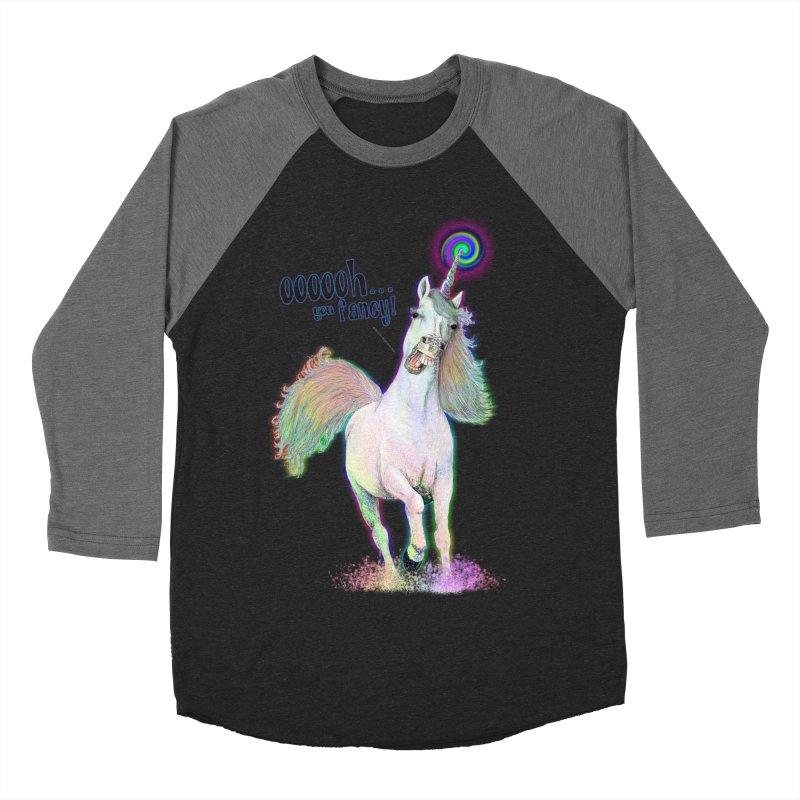 Fancy AF Men's Baseball Triblend T-Shirt by Jason Henricks' Artist Shop