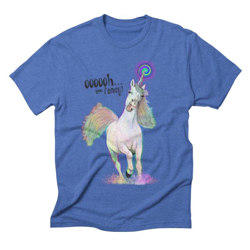 Fancy AF Men's Triblend T-shirt by Jason Henricks' Artist Shop