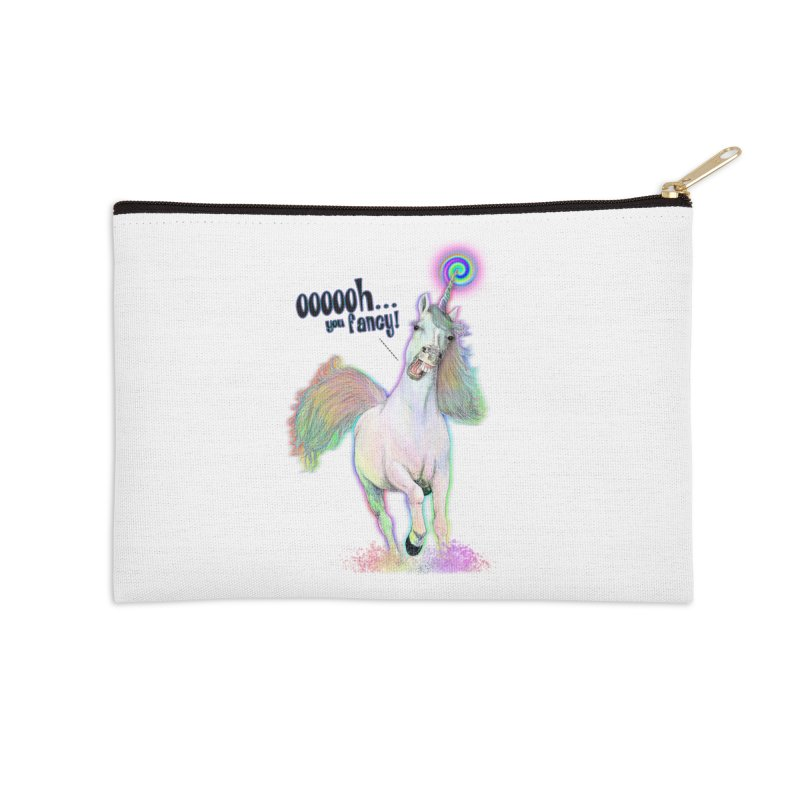 Fancy AF Accessories Zip Pouch by Jason Henricks' Artist Shop