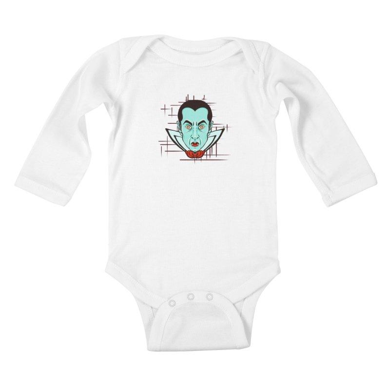 VAMP Kids Baby Longsleeve Bodysuit by Jason Henricks' Artist Shop