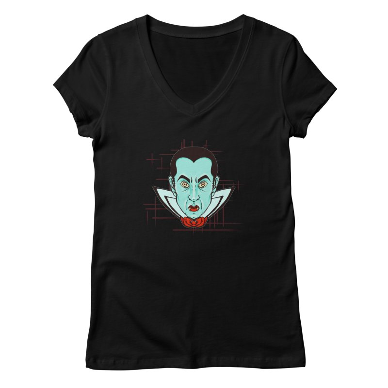 VAMP Women's Regular V-Neck by Jason Henricks' Artist Shop