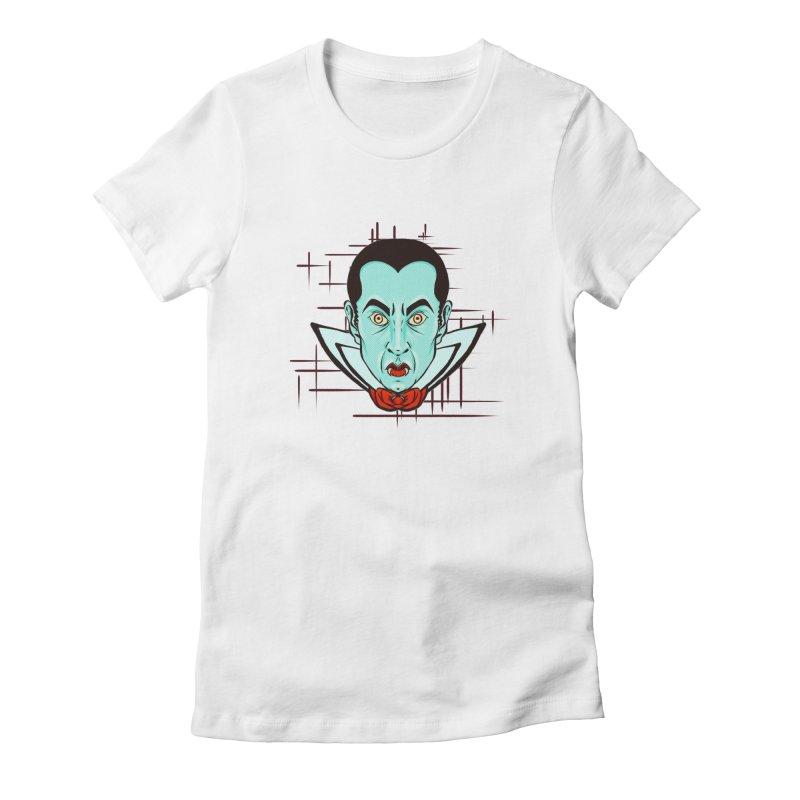 VAMP Women's Fitted T-Shirt by Jason Henricks' Artist Shop