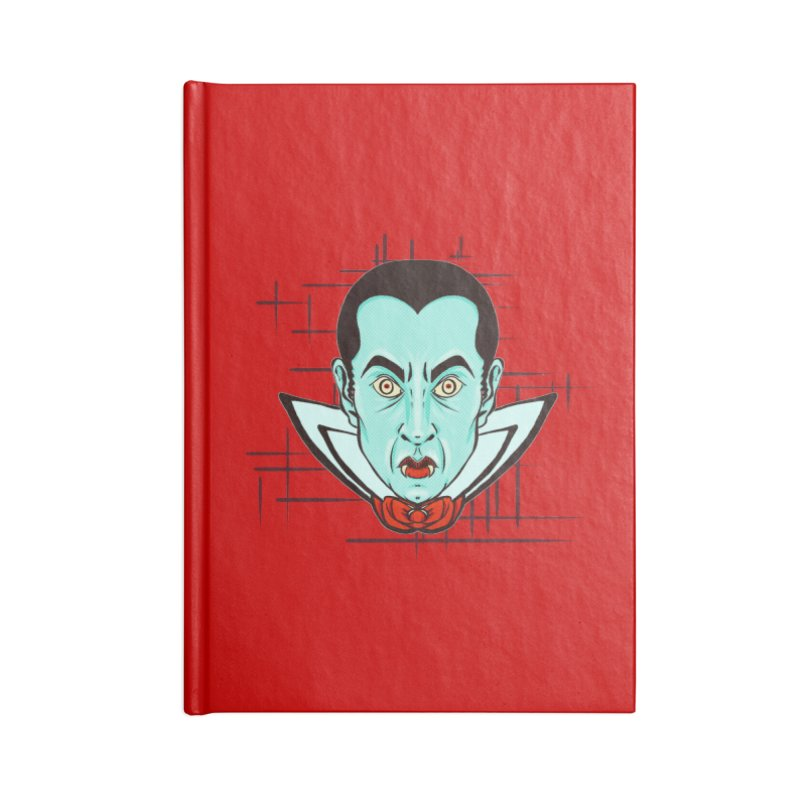 VAMP in Blank Journal Notebook by Jason Henricks' Artist Shop