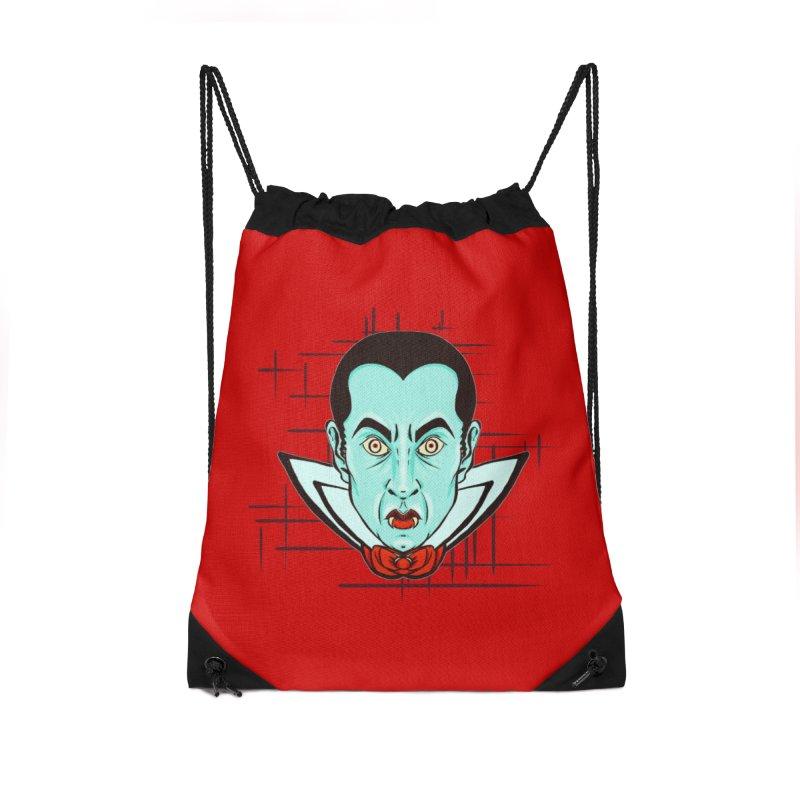 VAMP Accessories Drawstring Bag Bag by Jason Henricks' Artist Shop