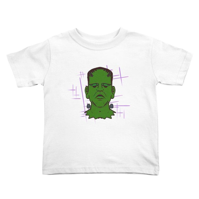 FRANK Kids Toddler T-Shirt by Jason Henricks' Artist Shop