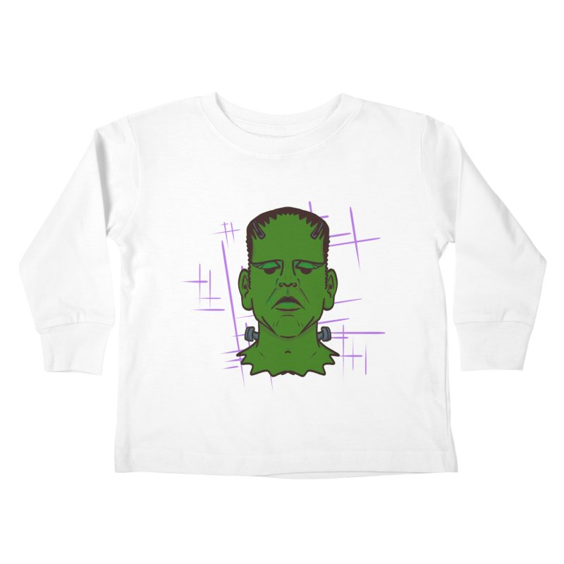 FRANK Kids Toddler Longsleeve T-Shirt by Jason Henricks' Artist Shop