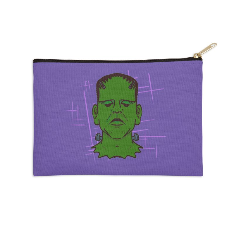 FRANK Accessories Zip Pouch by Jason Henricks' Artist Shop