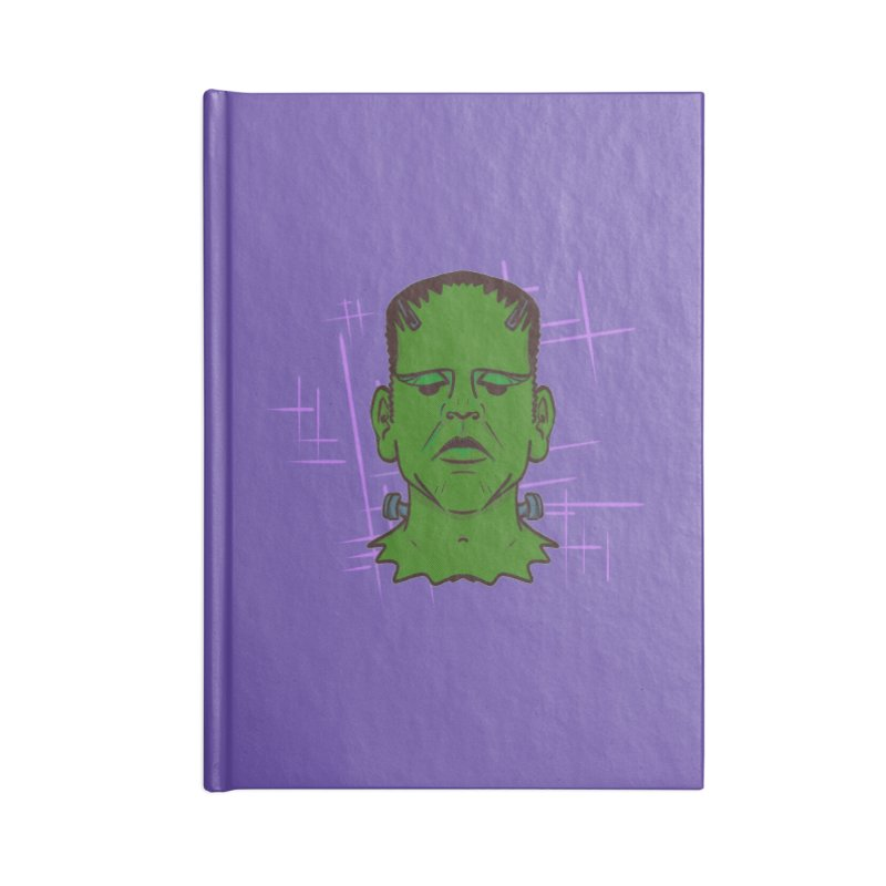 FRANK Accessories Blank Journal Notebook by Jason Henricks' Artist Shop
