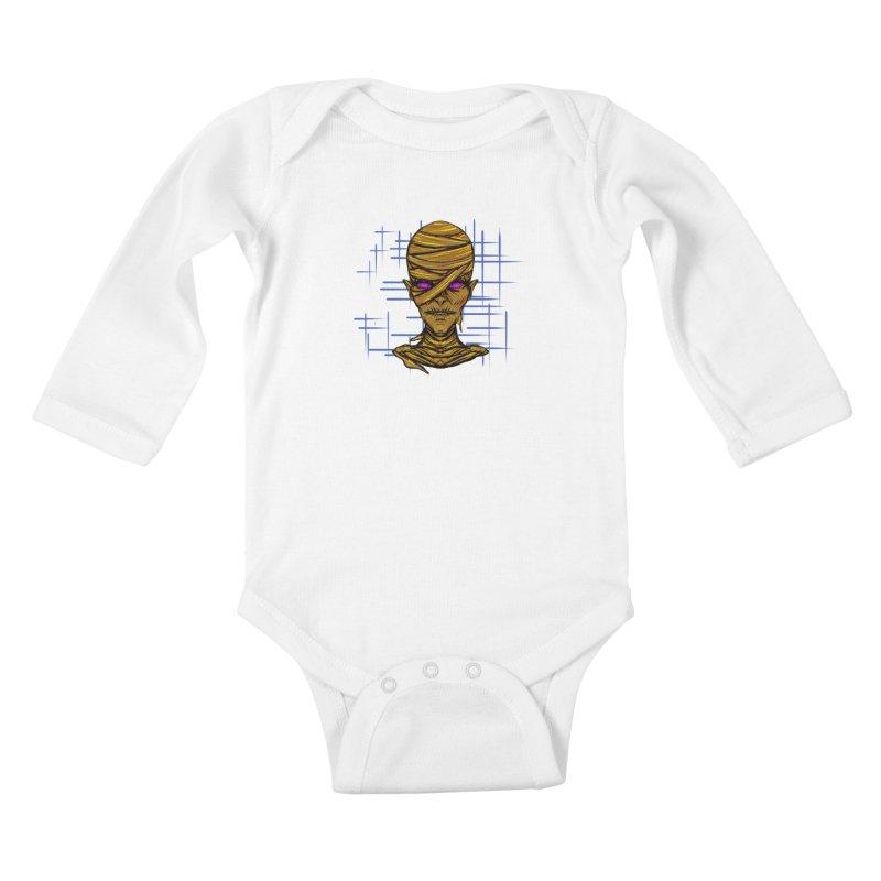 MUMSY Kids Baby Longsleeve Bodysuit by Jason Henricks' Artist Shop