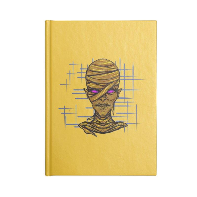 MUMSY Accessories Lined Journal Notebook by Jason Henricks' Artist Shop