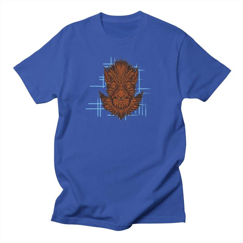 WOLFIE Men's T-Shirt by Jason Henricks' Artist Shop