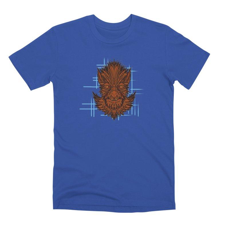 WOLFIE Men's Premium T-Shirt by Jason Henricks' Artist Shop