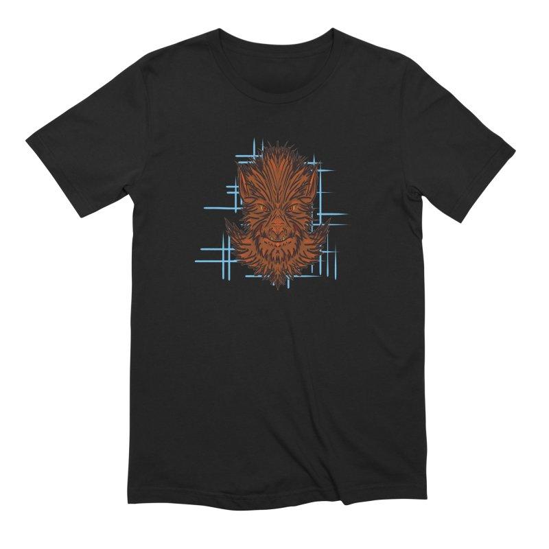 WOLFIE Men's Extra Soft T-Shirt by Jason Henricks' Artist Shop