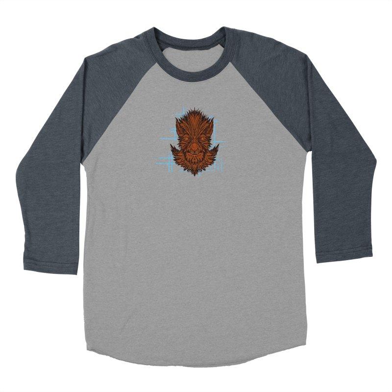 WOLFIE Women's Baseball Triblend Longsleeve T-Shirt by Jason Henricks' Artist Shop