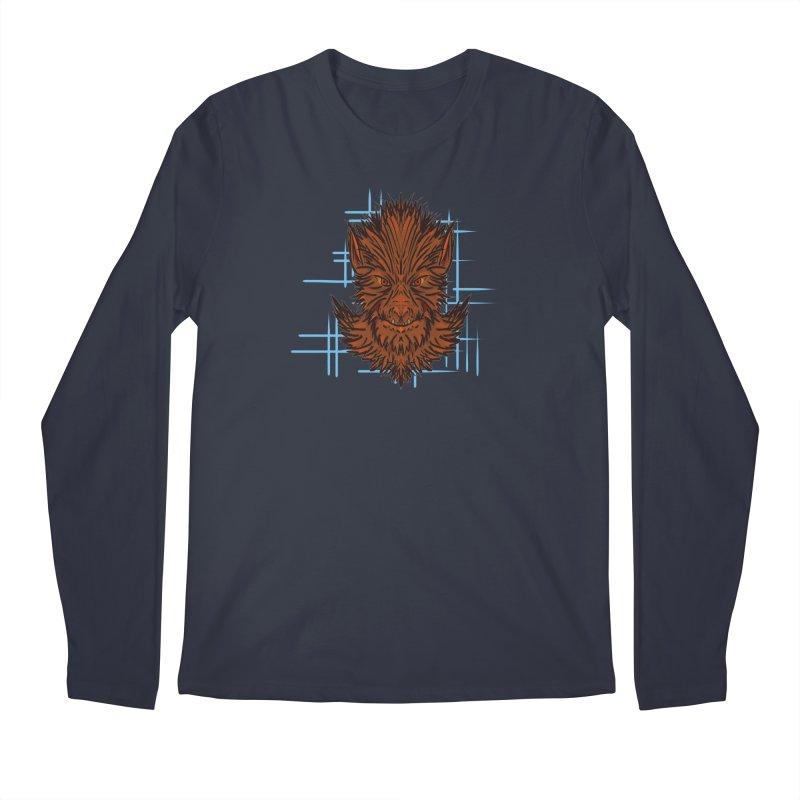 WOLFIE Men's Longsleeve T-Shirt by Jason Henricks' Artist Shop
