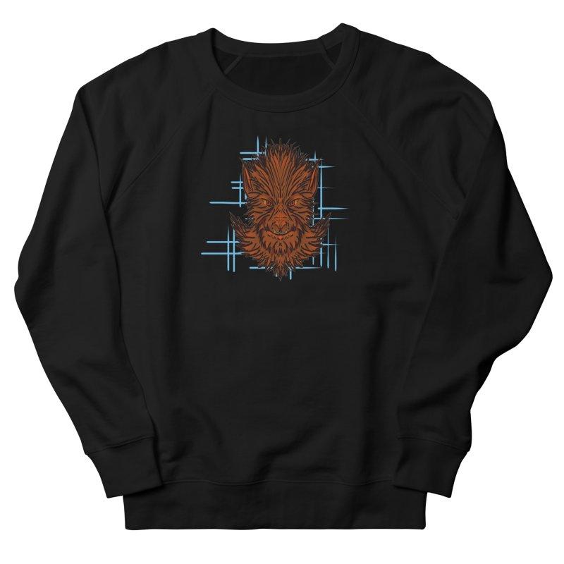 WOLFIE Men's French Terry Sweatshirt by Jason Henricks' Artist Shop