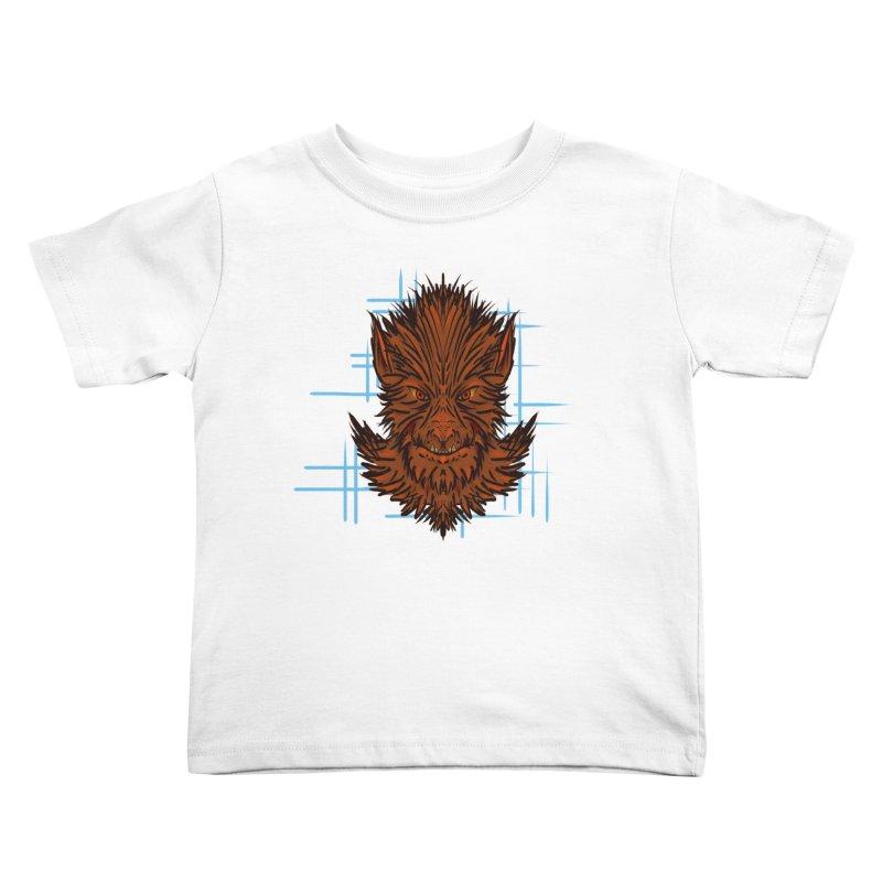 WOLFIE Kids Toddler T-Shirt by Jason Henricks' Artist Shop