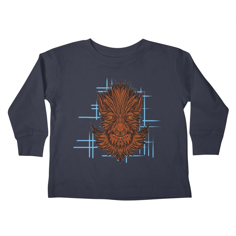 WOLFIE Kids Toddler Longsleeve T-Shirt by Jason Henricks' Artist Shop