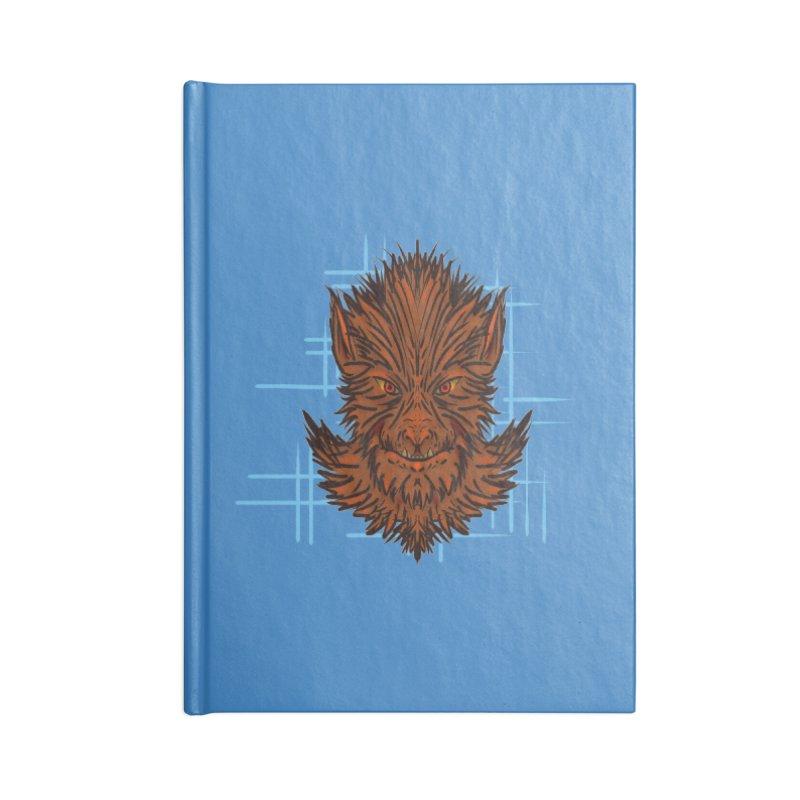 WOLFIE Accessories Lined Journal Notebook by Jason Henricks' Artist Shop