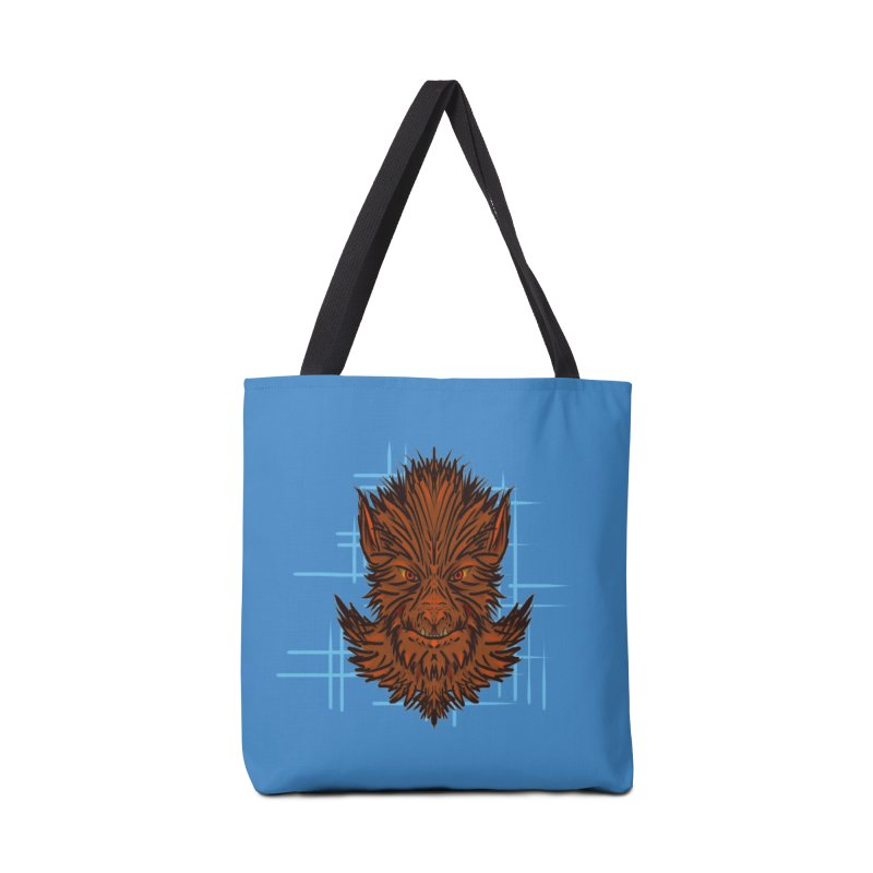 WOLFIE Accessories Tote Bag Bag by Jason Henricks' Artist Shop