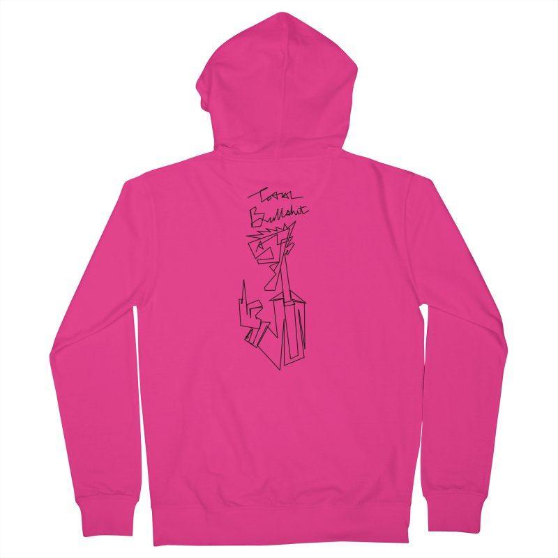 Total bs Men's French Terry Zip-Up Hoody by Jason Henricks' Artist Shop