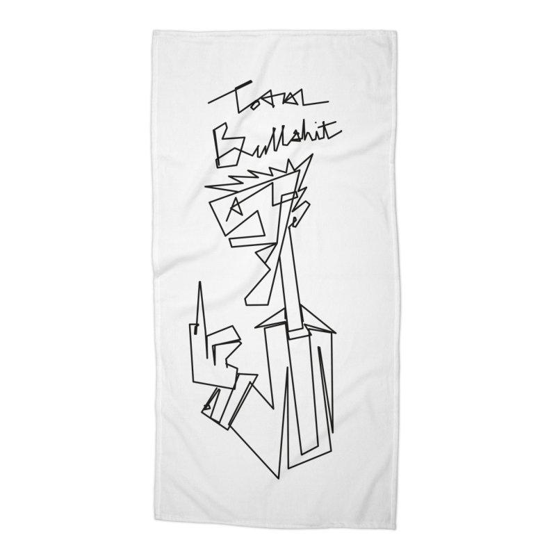 Total bs Accessories Beach Towel by Jason Henricks' Artist Shop