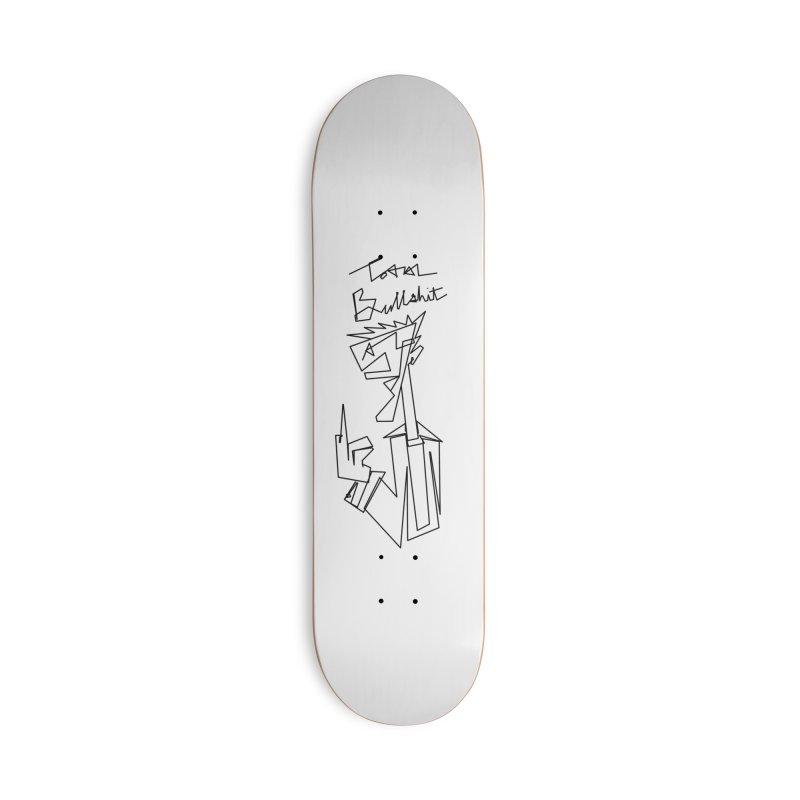 Total bs Accessories Deck Only Skateboard by Jason Henricks' Artist Shop