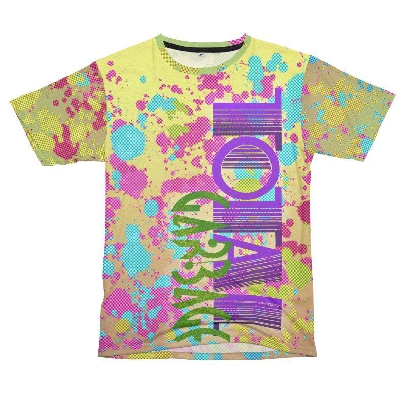 Total Garbage Women's Unisex French Terry T-Shirt Cut & Sew by Jason Henricks' Artist Shop