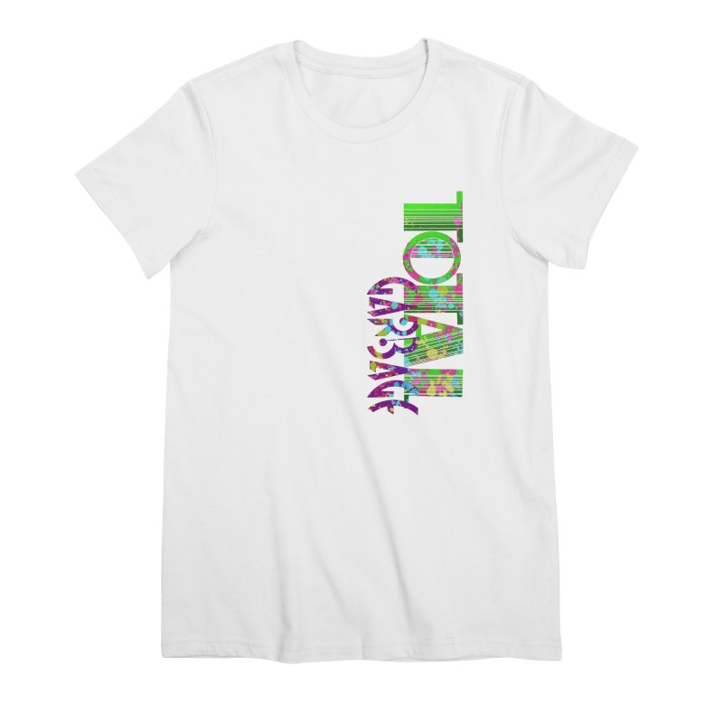 Total Garbage Women's Premium T-Shirt by Jason Henricks' Artist Shop