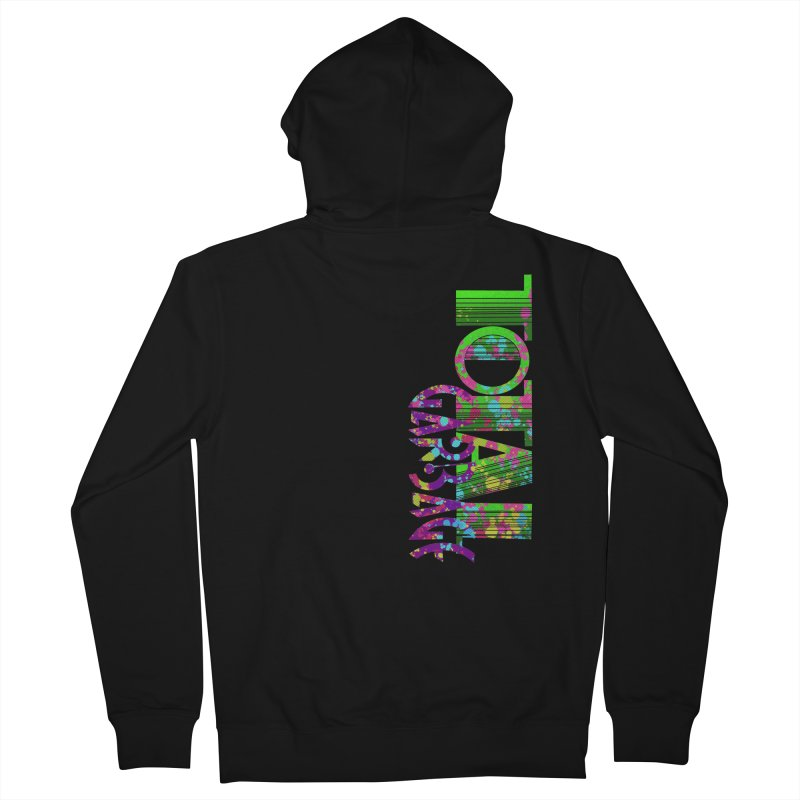 Total Garbage Men's French Terry Zip-Up Hoody by Jason Henricks' Artist Shop
