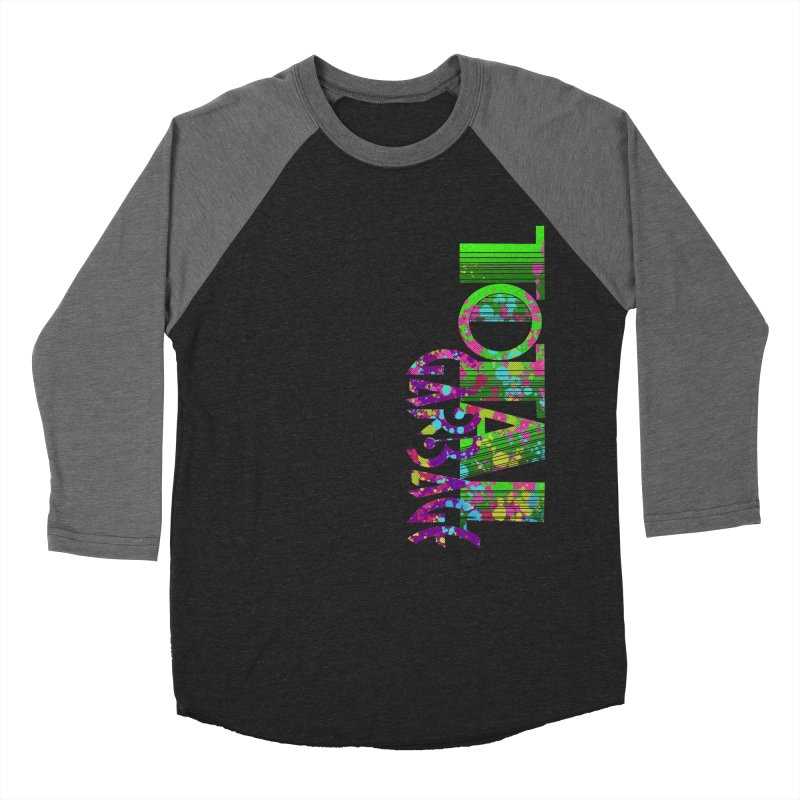 Total Garbage Men's Baseball Triblend Longsleeve T-Shirt by Jason Henricks' Artist Shop