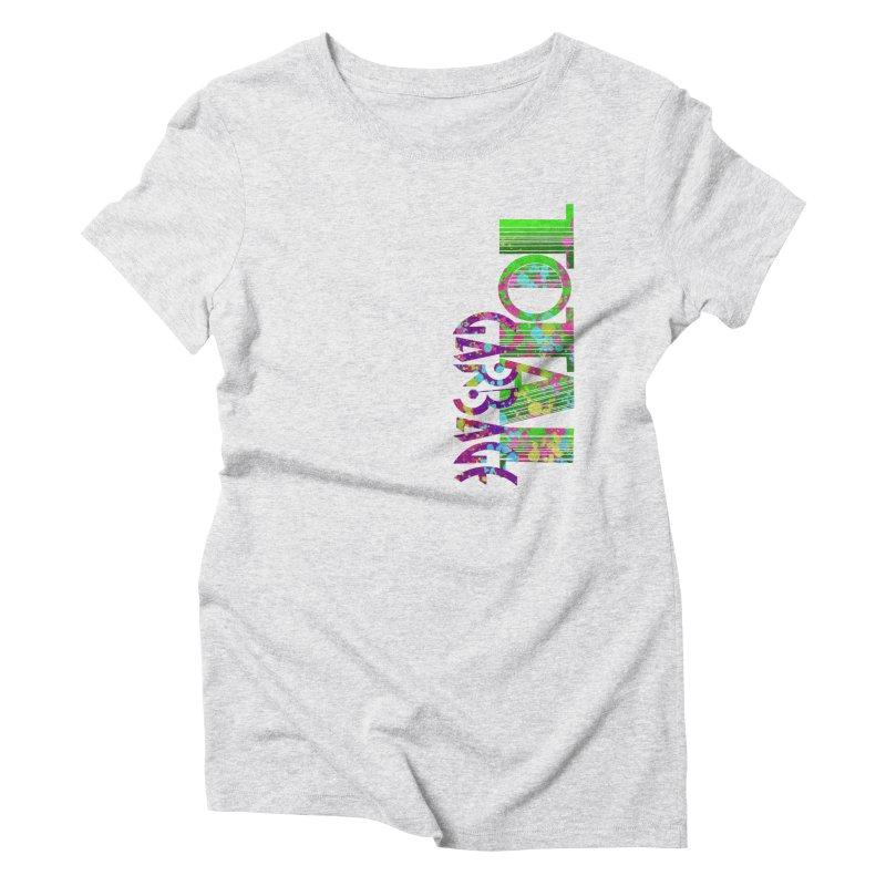 Total Garbage Women's T-Shirt by Jason Henricks' Artist Shop
